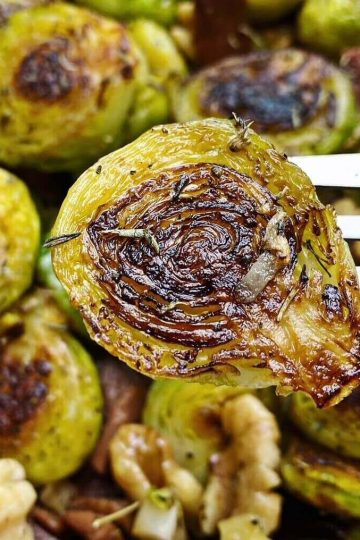 Gourmet Sautéed Brussels Sprouts