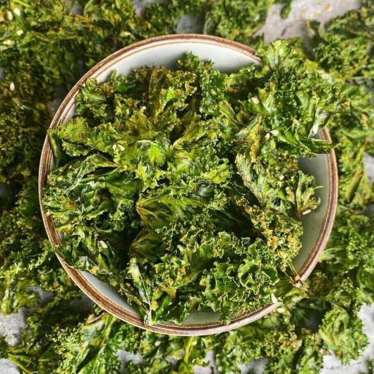 Chilli Cheeze Kale Chips
