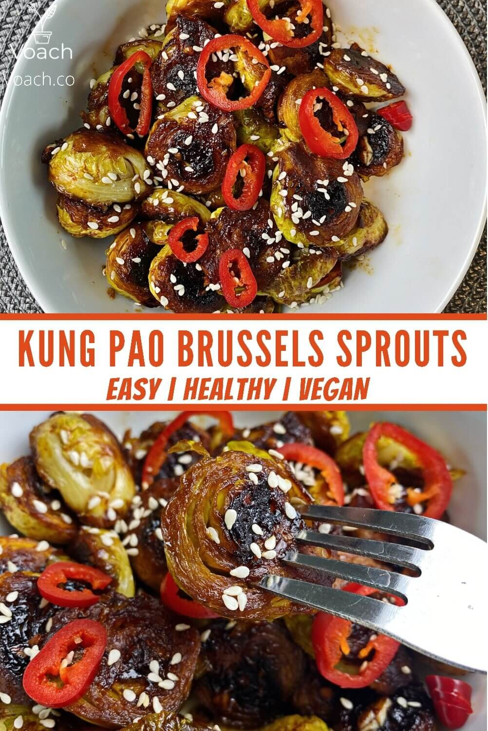 kung pao brussel sprouts recipe