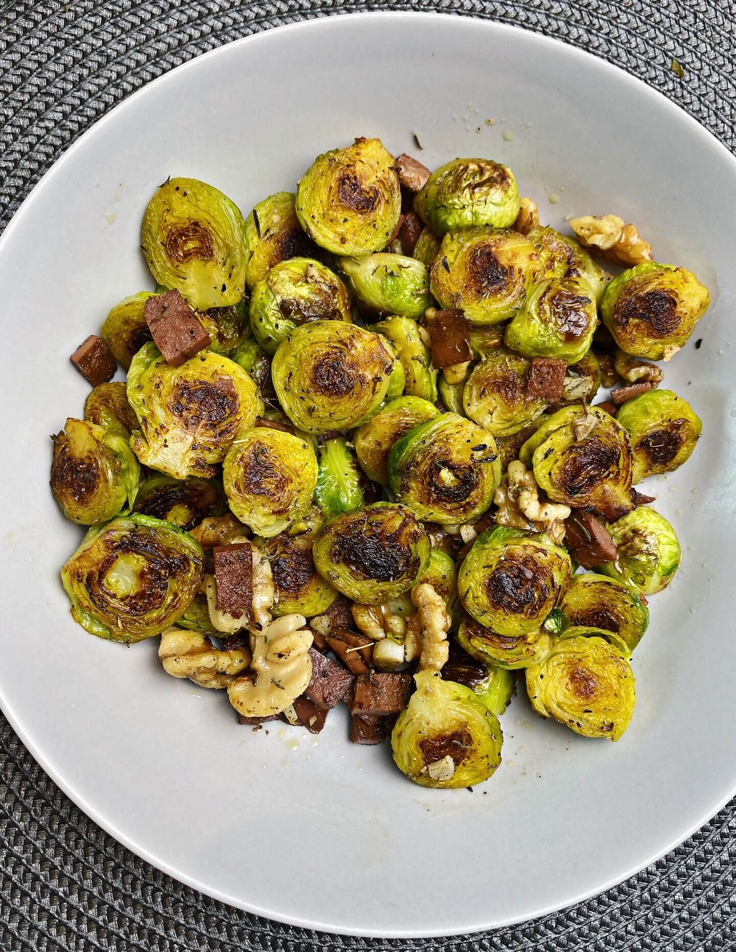 cook brussel sprouts