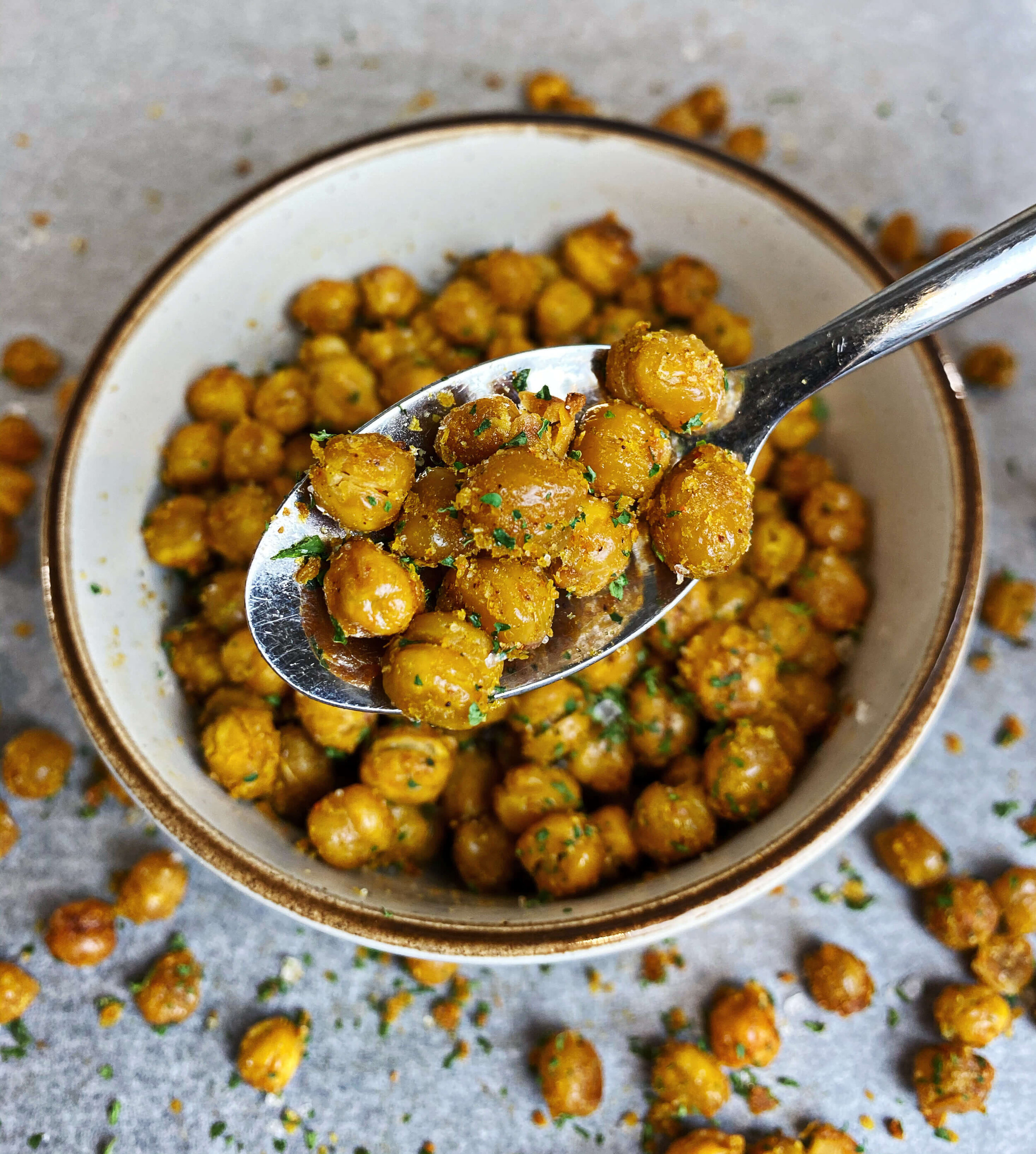 how to make roasted chickpeas recipe